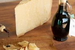 aceto balsamico e parmigiano